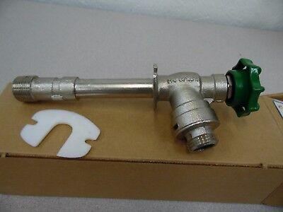 "Watts Regulator 4"" Anti-Siphon Frost Free Hydrant/Outdoor Faucet 3/4"" NEW FHV-2"