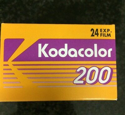 Kodakcolor 200 24 exp 35mm expired film fuji