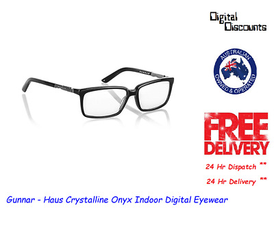 Gunnar - Haus Crystalline Onyx Indoor Digital Eyewear