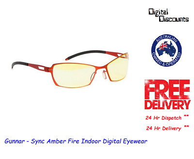 Gunnar - Sync Amber Fire Indoor Digital Eyewear