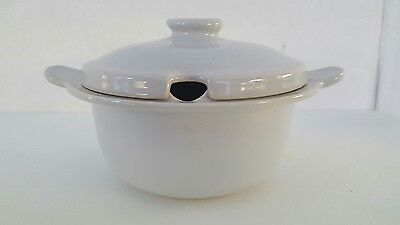 Vintage Gray Fris Edam Covered Sugar Bowl - Made in Holland