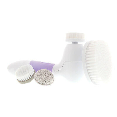 New Purple Spin For Perfect Skin Face & Body Cleansing Brush