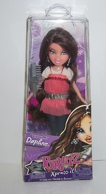 Bratz Xpress It DAPHNE Doll (502432) - New In Package - Very Collectible