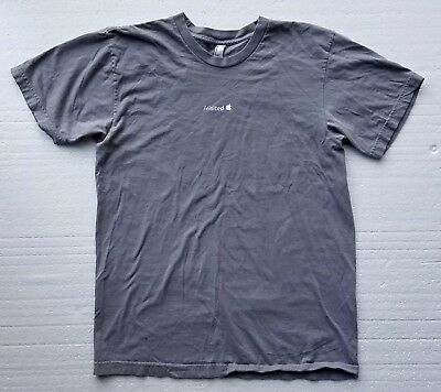 """iVisited Apple """"Silver"""" T-shirt by Apple Computer T-shirt Size Medium Rare"""