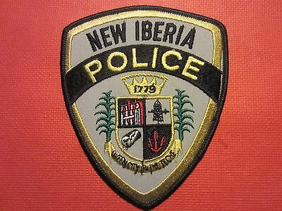 Collectible Louisiana Police Patch, New Iberia, New