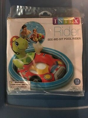 Intex Rider See-Me-Sit Pool Rider