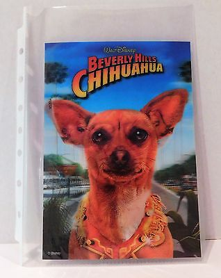 BEVERLY HILLS CHIHUAHUA  Disney Movie Club 3D Lenticular Card RARE Collector