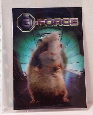 G FORCE Disney Movie Club 3D Lenticular Card RARE Collector