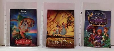PETER PAN, PETER PAN DIAMOND RETURN TO NEVERLAND Disney Movie Club 3D Lenticular