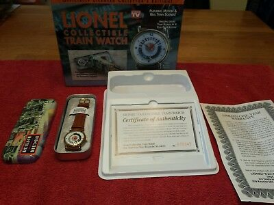 Lionel Collectible Train Watch with Motion and Sound