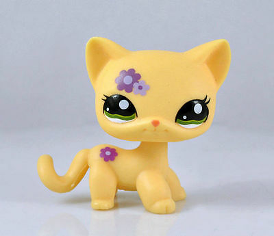 Littlest Pet CAT SHORT HAIR Animal child girl boy figure loose cute LPS814
