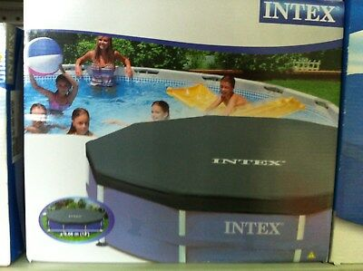12FT 3.66cm Intex metal frame pool cover