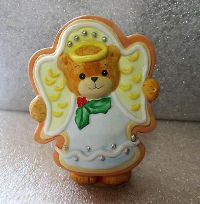 Lucy & Me ~ Angel Cookie Christmas ~ Porcelain Figurine