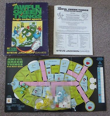 Awful Green Things from Outer Space board game (Steve Jackson) 1308