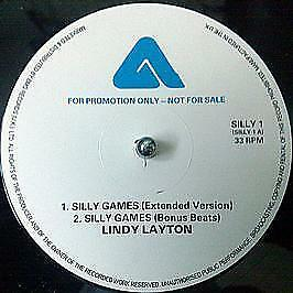 Lindy Layton - Silly Games - Arista - 1990 #641873
