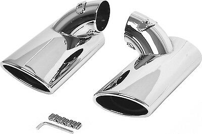 Exhaust Panel Chrome ÜRO W211-EXHAUST Compatible with MB Mercedes Benz