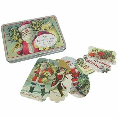 Cavallini & Co. Christmas Cheer Glitter Gift Tag Set