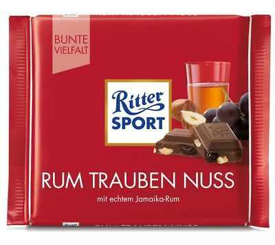 Ritter Sport Rum Grape Nut 100gr