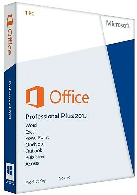 Microsoft Office 2013 Pro+ 1Pc