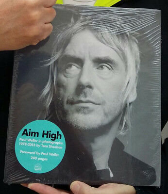 PAUL WELLER AIM HIGH HARDBACK BOOK - BRAND NEW and SEALED - RARE BOOK!