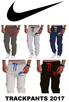 Nike Mens Womens 2017 Athletic Casual Trackpants pants lowers joggers S M L XL