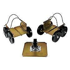 Extreme Max 5800.0200 Power Wheels Driveable Snowmobile Dollies - Shop, Trailer