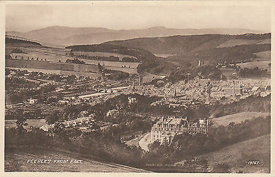 View From The East, PEEBLES, Peeblesshire