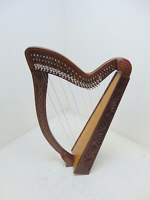 29 String Harp with Levers By Gear4music, RW - FAULTY - RRP £439.99