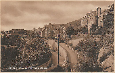Hendre Hall & West Barmouth, BARMOUTH, Merionethshire