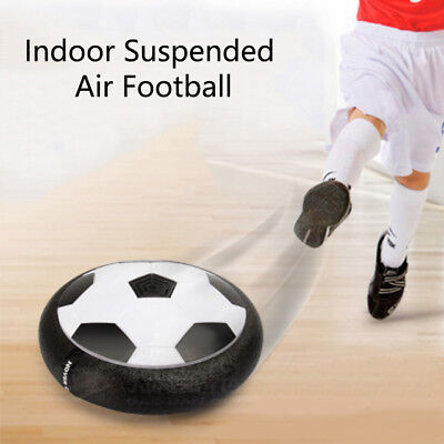 Indoor Suspended Air Cushion Football With Colorful LED Light Sports Game Toys