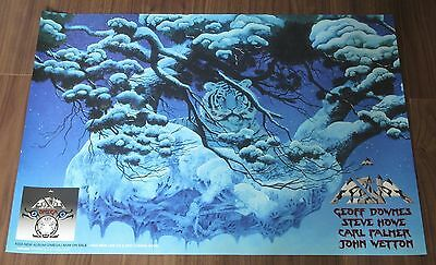 ASIA Japan PROMO ONLY 72 x 51 cm release POSTER official OMEGA John Wetton YES