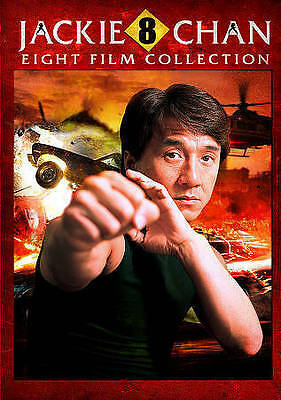 Jackie Chan: Eight Film Collection (DVD, 2015, 2-Disc Set)