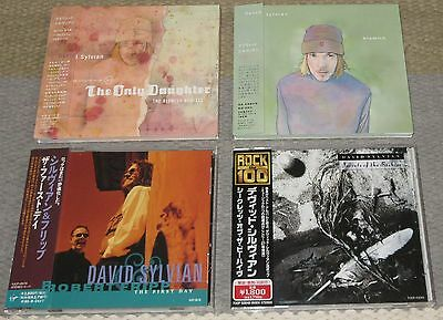 Japanese PROMO issue CD x 4 set DAVID SYLVIAN obi COMPLETE Japan MORE DS listed!