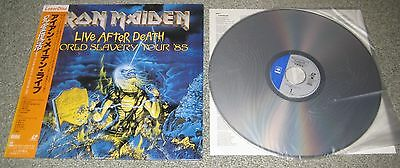 JAPAN music laserdisc IRON MAIDEN No.3 Live 85 REISSUE w/obi - others available
