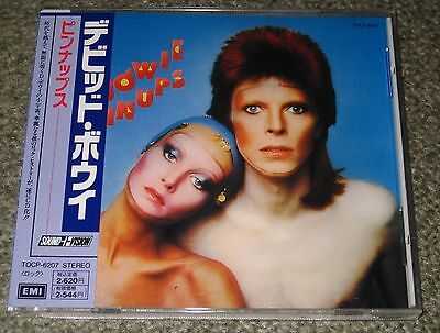 DAVID BOWIE Japan PROMO CD with obi PIN UPS 1990 issue - OTHERS AVAILABLE