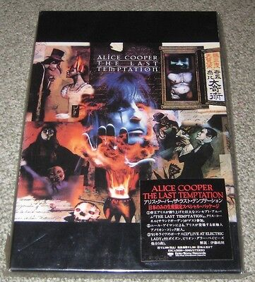 Alice Cooper JAPAN only limited 2CD box set w/obi sticker cover COMPLETE nr mint