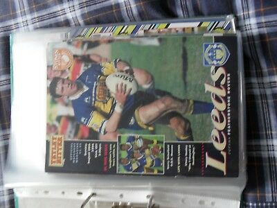 leeds v featherstone rovers    1994