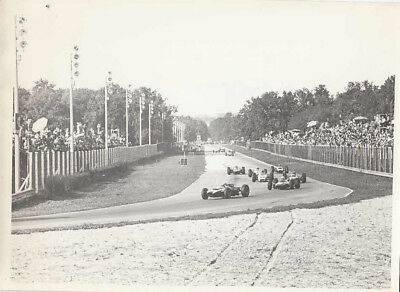 Single Seater Motor Race Photograph.