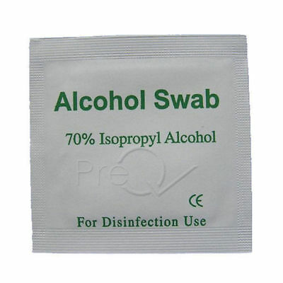 ALCOHOL SWABS,ISOPROPYL NHS Quality Wipes Tattoo Disinfectant Nail Heatsink CPU