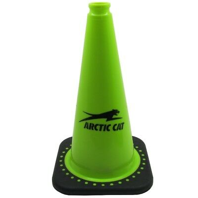 Arctic Cat 18-inch Lime Green Cone - Construction Road Safety Traffic Parking