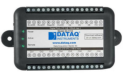 DI-1110 Data Acquisition USB DAQ System, 12-bit, 160 kHz