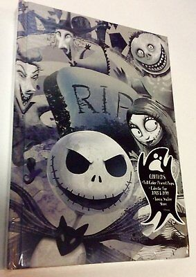 Tim Burton's Nightmare Before Christmas 2018 and 2019 Journal Diary and Stickers