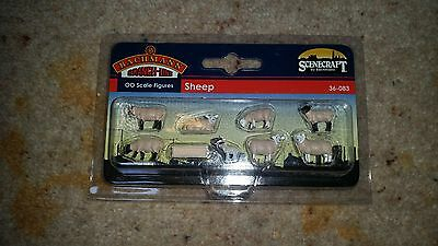 OO Model Railway Bachmann 36-083 SHEEP animals for layout scenery