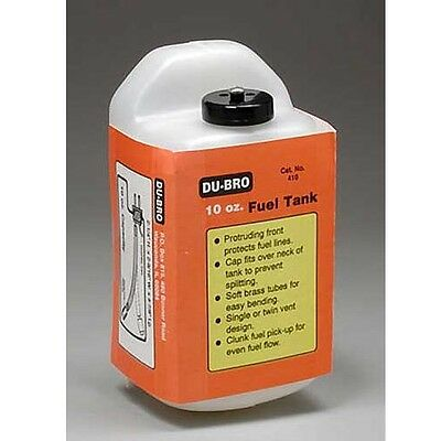 Dubro 410 S10 Square Airplane Fuel Tank 10 oz