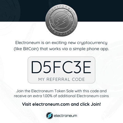 Electroneum The UK first ever ICO Cypto currency Launch for mass use