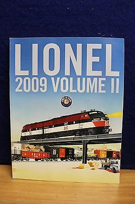 Lionel 2009 Volume Ii Train Accessory Catalog 538740