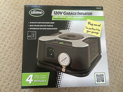New Slime Garage Inflator 120V Inflates in 4 min. #40029 Fast Shipping