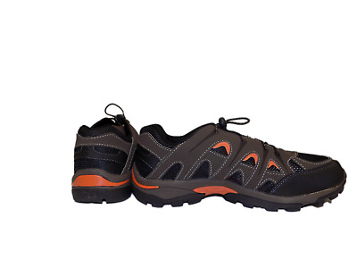 Cold Front WINTER TRAIL Mens Brown Bungee Lace Up Hiking Trail Shoes