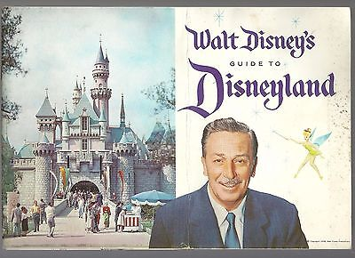 1958 Walt Disney's Guide To Disneyland With Summer 1959 Insert Free Shipping