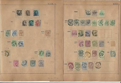 Belgium Old Collection 1858-1940 on 23 Album Pages, SCV $400++